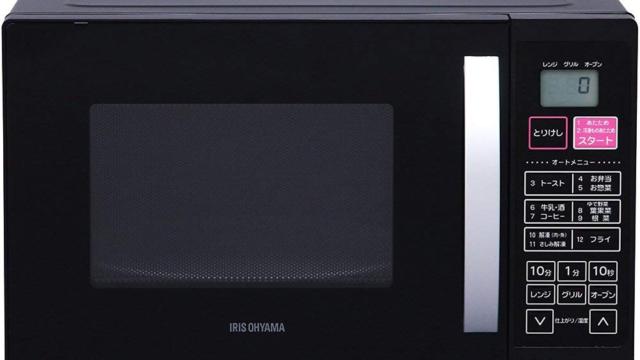 【アイリスオーヤマ オーブンレンジ VAL-16T-B レビュー】シンプルかつ高機能な格安電子レンジ